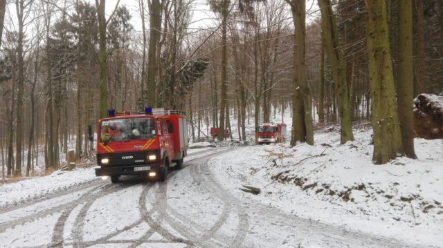 Einsatzübung KatS Löschzug 14 am 17.03.2018