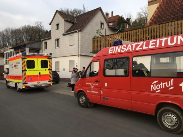 Unterstützung Rettungsdienst – Tragehilfe